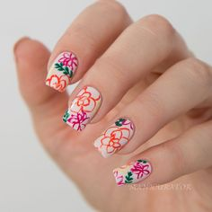 PAINT ALL THE NAILS Does Floral with Jin Soon Tila March Spring/Summer 2015 Collection