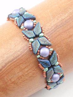 Beading Tutorial for Harlequin Bracelet beading tutorials