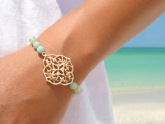 Moroccan Bracelet Friendship Bracelet Beaded by laromantica, $29.99