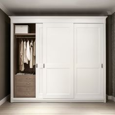 2018 Latest Solid Wood Fitted Wardrobe Doors Traditional Wardrobe with proportions 933 X 933 Bedroom Cabinets With Sliding Doors - Having the property you Bedroom Closet Doors, Bedroom Closet Design, Budget Bedroom, Bedroom Wardrobe, Wardrobe Closet, Fitted Bedroom Furniture, Fitted Bedrooms, Wooden Bedroom, Wooden Closet
