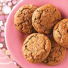 Gingerbread Muffin Tops Recipe -We came up with this unique recipe for muffin tops that don't require a special baking pan. The flavor is similar to mouthwatering molasses cookies.—Taste of Home Test Kitchen