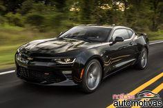 Chevrolet Camaro SS 2016 vai de 0 a 100 km/h em 4 segundos - Notícias Automotivas - Notícias de carros