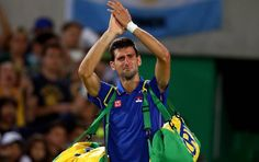 #Djoko #Nole #Novak #NovakDjokovic Novak Djokovic at Rio 2016 Games. He´ll be always a champion. A true champion in feelings and actions.