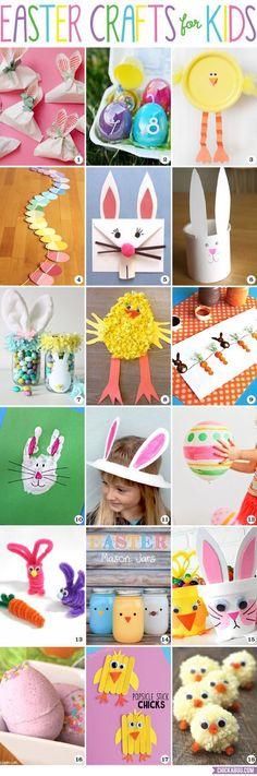Easter crafts for ki
