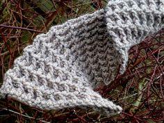Lindevrouwsweb: Gehaakte Wafelsteek Sjaal