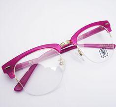 65a0ed0e994c Women s Vintage Retro Brow Line Shuron s Roseo Purple Eyeglass Frames  Spectacles