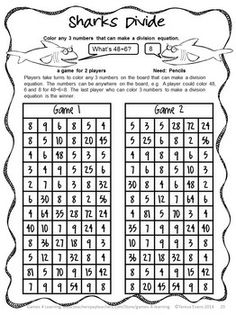 NO PREP math game from End of Year Math Games Third Grade by Games 4 Learning -  14 printable games that review a variety of third grade skills.  $