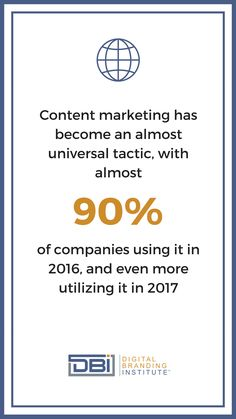 Content marketing has become an almost universal tactic, with almost of companies using it in and even more utilizing it in Email Marketing, Content Marketing, Social Media Marketing, Business Goals, Business Tips, Branding Strategies, Search Optimization, Google Analytics, Education And Training