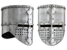 Flat Top Crusader Helmet Large