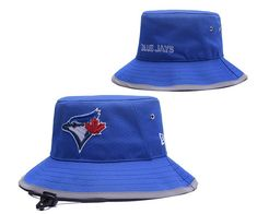 fcda14b0e58 Toronto Blue Jays MLB Bucket Hats Blue