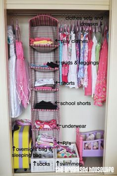 Back to school: Organising the kids wardrobe » The Organised Housewife