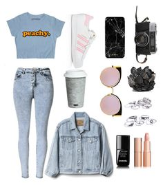 """F.day"" by ladyanyainny on Polyvore featuring мода, McCoy Design, Fitz & Floyd, Gap, adidas, Fendi и Chanel"