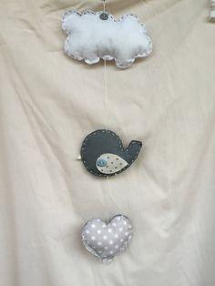 Baby Mobile uccellino 2 di LoveLabLove su Etsy https://www.etsy.com/it/listing/240546581/baby-mobile-uccellino-2