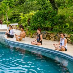 Few places can lay claim to such zen and lush surroundings Yoga Holidays, Meditation Retreat, Train Your Mind, Spiritual Wellness, Luxury Spa, Spa Treatments, Costa Rica, Lush, Zen