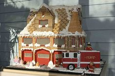 Mark Joseph Cakes Gingerbread Firehouse | by NYBG