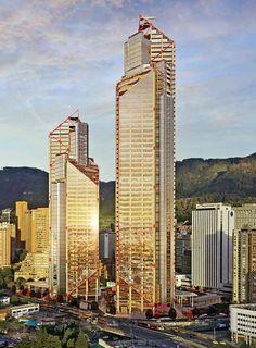 🤩🏢 Arquitectura, nuevo hito de Bogotá. Colombia Travel, Skyscrapers, Study Abroad, Cityscapes, Willis Tower, Building Design, Sd, Architecture Design, Graffiti
