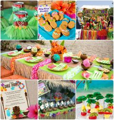 Ideas for a Luau party!