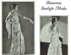 1930s Vintage Fashion Service Magazine Fall - Winter, 1930 Clothing & Sewing Patterns - INSTANT DOWNLOAD