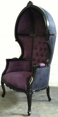 Gorgeous Dark Gothic Inspired Chair