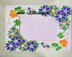 Handcrafted Frames - Quilled Frames, Handcrafted Photo Frames and ...