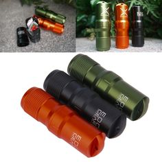 Waterproof Pill Case EDC Survival with matches and sewing kit everyday carry FREE US Shipping