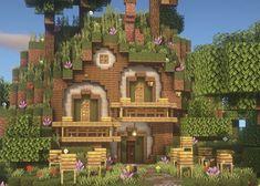 Minecraft Cottage, Minecraft Castle, Cute Minecraft Houses, Minecraft Room, Minecraft Plans, Amazing Minecraft, Minecraft Blueprints, Minecraft Crafts, Minecraft Stuff