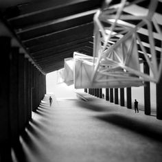 Shed One - Public Space - Edward Kilkenny-Brown Architecture Black Architecture, Light Study, Arch Model, Parametric Design, Built Environment, Model Building, Large Art, Light In The Dark, Shed