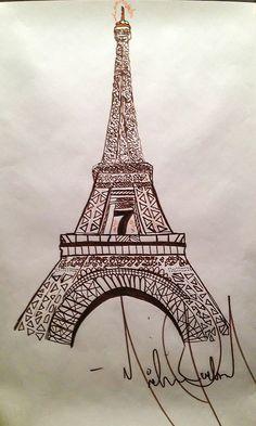 Eiffel Tower by mj