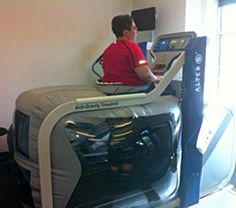 Parkinson's Disease-Benefits of anti-gravity treadmill-to help natural gait and quality of life-web address to medical facilities who offer use of these.  Pinned by SOS Inc. Resources.  Follow all our boards at http://pinterest.com/sostherapy  for therapy resources.