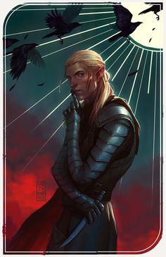 Zevran - The Sun (Dragon Age) by Mezamero.deviantart.com on @DeviantArt