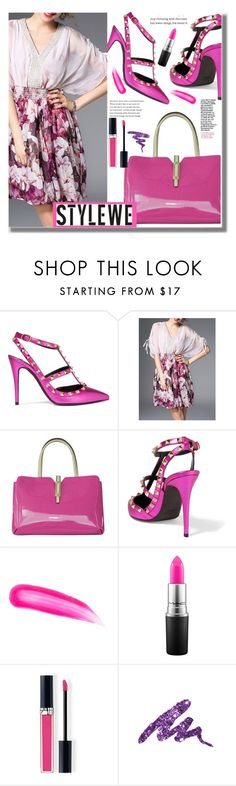 """""""Stylewe"""" by edita-n ❤ liked on Polyvore featuring Valentino, Tom Ford, MAC Cosmetics, Christian Dior and Urban Decay"""