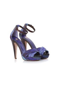 #MMissoni   Cyber Knit Platform Sandal   Summer 2014 Collection