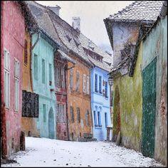 Sighisoara in winter