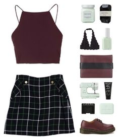 """""""3:44 pm"""" by hey-its-lexiib ❤ liked on Polyvore featuring Kate Spade, Laura Mercier, Cassia, Dr. Martens, John Lewis, Essie, NARS Cosmetics, Bottega Veneta, Topshop and Kendall + Kylie"""