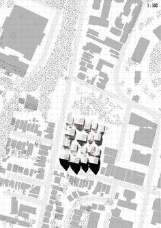 Zoe Ella. Victoria University, Wellington NZ.  http://cargocollective.com/zoeella Plan | Greenhouse | Architecture | VUW | ARCI211