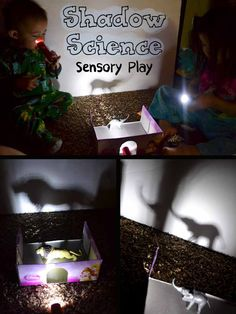 Shadow Science Sensory Play for Kids (Click & Chat Social Media Link Up) | A Little Pinch of Perfect
