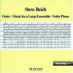 Octet Music For A Large: Steve Reich: Amazon.fr: Musique