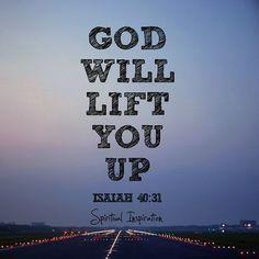 Lift up your eyes to Him you will arise again! #GodisWithYou #GodBlessYou #GodisNear #DontFear #DontGiveUp #ThinkPositive #PositiveThinking #DeuséContigo #HaveaNiceDay #NãoDesista #YouCan #JustDoIt #Isaiah #WordofGod #GodsWord by skillskrauser