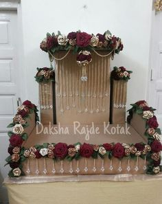 Ganpati Decoration Makhar wow more beautiful swing decoration inspiration for Janmastami