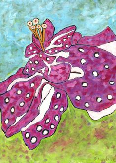 Hibiscus painting for your home! #shopBM