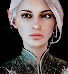 Inquisitor Oriana by flmeth<< Oh my! She is so pretty! Dragon Age Characters, Elf Characters, Fantasy Characters, Dragon Age Inquisition, Elves Fantasy, Fantasy Art, Fantasy Women, Avatar Forum, Character Inspiration