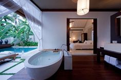 Sala Samui Villas, Koh Samui, Thailand - our bathroom, February 2014