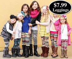Kids Printed Leggings Only $7.99 **75 Styles** - http://www.swaggrabber.com/?p=281776