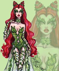 #PoisonIvy by Hayden Williams #DCComics #DC #SuperVillain #Batman