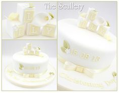 Lily christening cake | based on one of my previous designs | Flickr