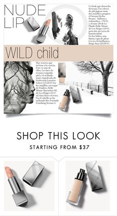 """""""N A T U R E"""" by color-dli ❤ liked on Polyvore featuring beauty, OFFI, Burberry, nudelip, polyvorecontest and polyvoreset"""