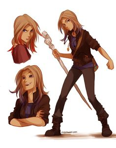 Sadie Kane from the Kane Chronicles by Rick Riordan, fan art by Viria. She was a bit stuck up in the beginning, but Rick Riordan made me love her ^. Percy Jackson Fandom, Arte Percy Jackson, Percy Jackson Cosplay, The Kane Chronicles, Kane Chronicles Anubis, Rick Riordan Series, Rick Riordan Books, Magnus Chase, Viria