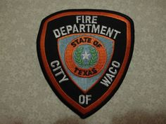 Patch fire,Waco fire department,Emergency Services,City of Waco,USA,Texas