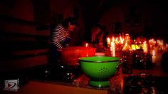 A cena da Silvestro Silvestori - Cool Video from Friend in Italia - Cooking by Candlelight