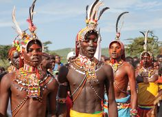 In the remote village of Maralal (Kenya), the Turkana, Samburu, Pokot, Maasai, and Rendile tribles gather for a cultural exchange of dance and sport to promote peace and understanding among the often fighting tribes.